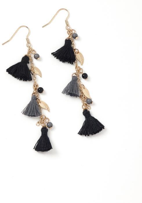 Meredith Mini Tassel Drop Earrings