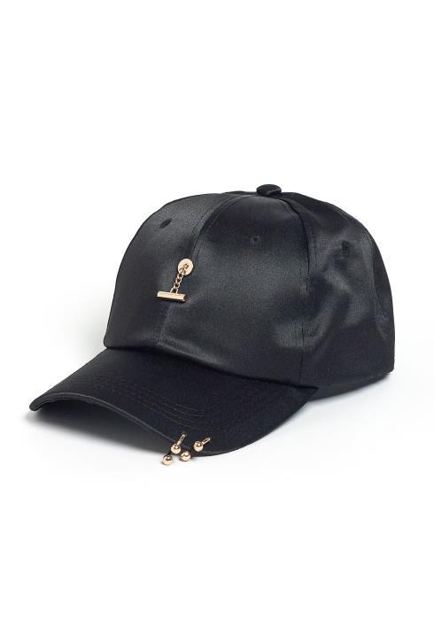 Chico Black Piercing Cap