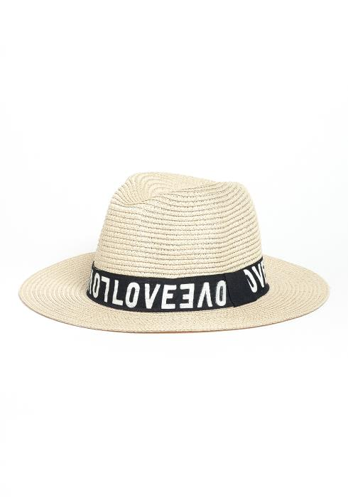 Love Love Love Straw Hat