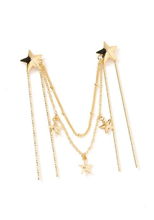 Celestial Star Drape U Shape Linked Hair Pins