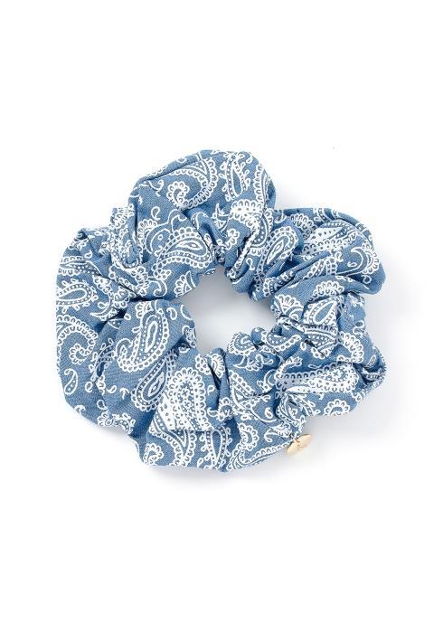 Liliana Paisley Print Hair Tie Scrunchie