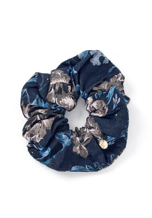 Aubree Vintage Velvet Hair Tie Scrunchie