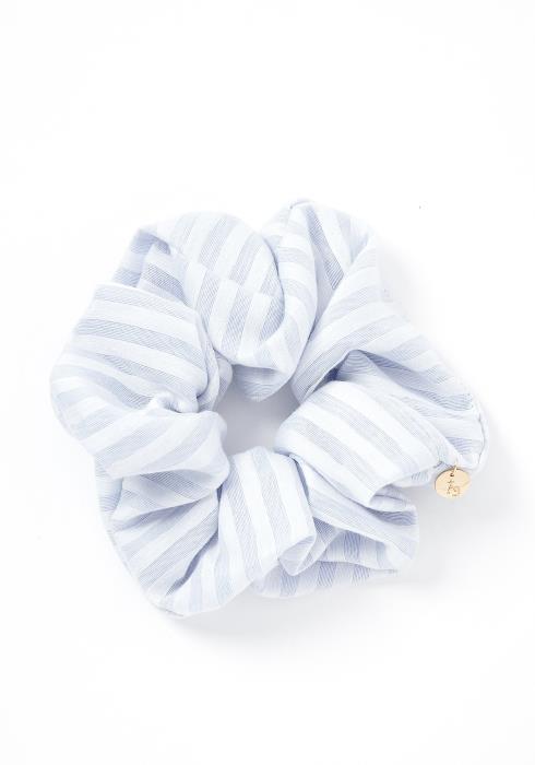 Josephine Pastel Striped Hair Tie Scrunchie