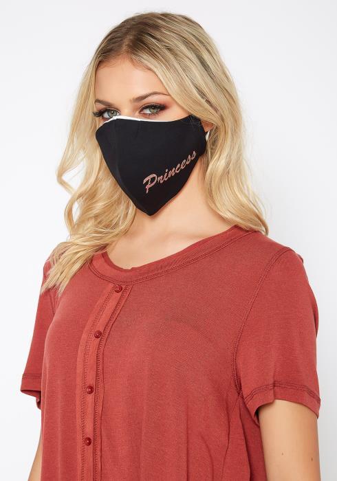 Glitter Princess Filter Insert Face Mask