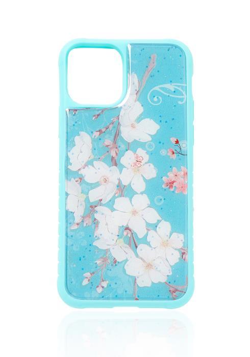 Floral Glitter Iphone 11 Pro Case