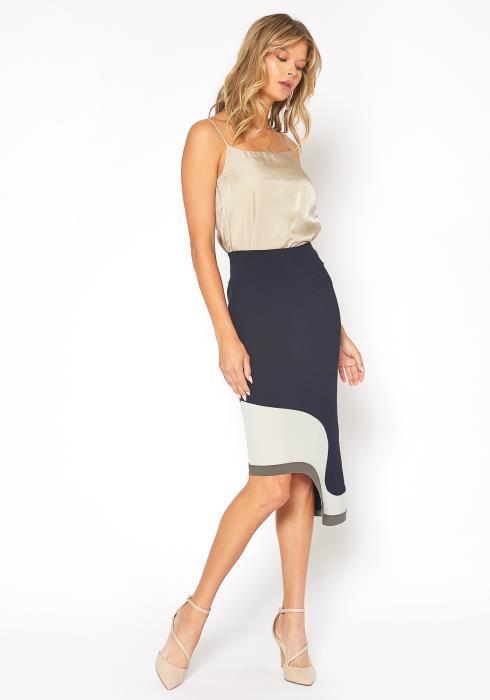 NDS Seville Curvy Hem Skirt