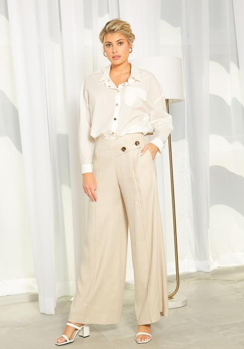 NDS Linen Wide Leg Pants