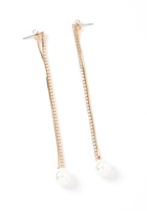 Destiny Pearl Drop Earrings
