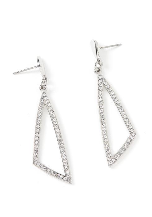 Charlotte Triangle Drop Earrings