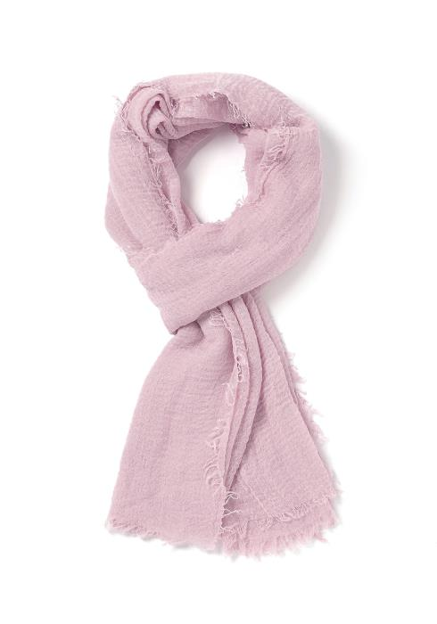 Stassi Simple Lightweight Fray End Scarf