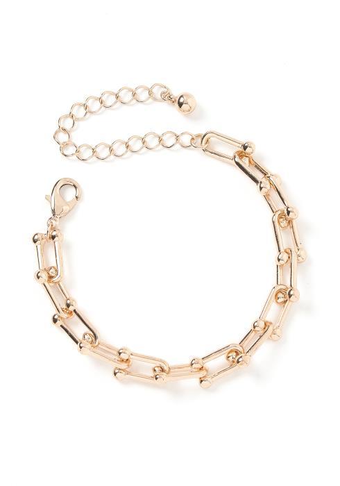 Harper Golden Chain Link Bracelet