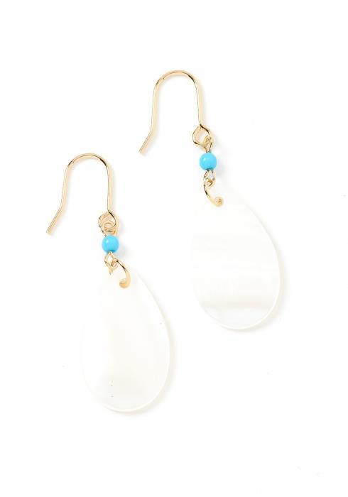 Mesmerized Iridescent Drop Earrings