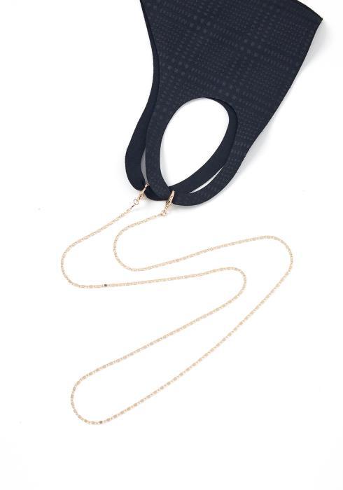 Roscoe Gold Chain Mask Eyewear Chain