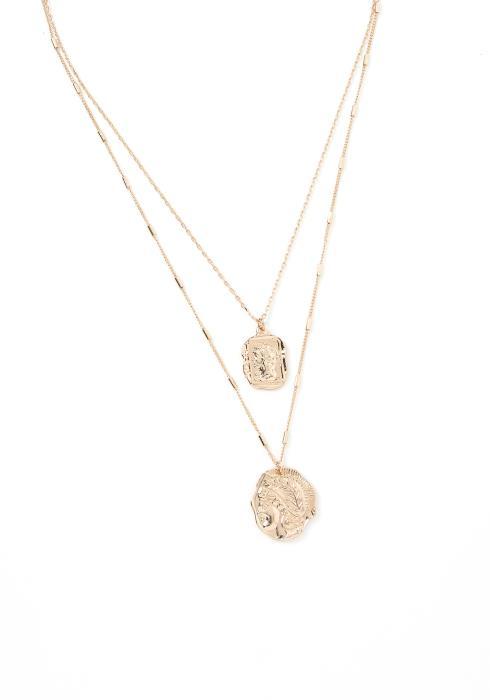 Hico Layered Pendant Necklace