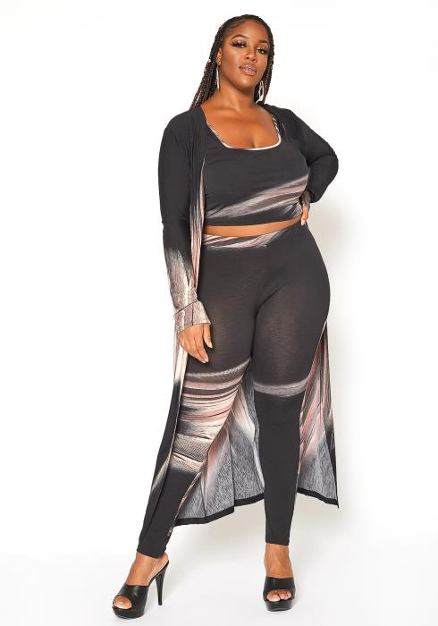Asoph Plus Size Unforgettable Three Piece Set