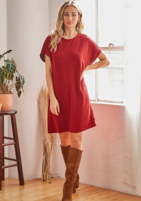 CY Fashion Sparkly Midi Dress