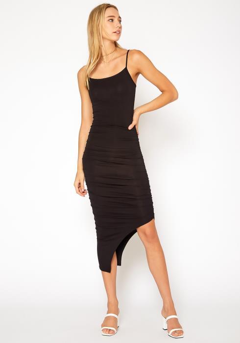 Bellatrix Ruched Bodycon Maxi Dress