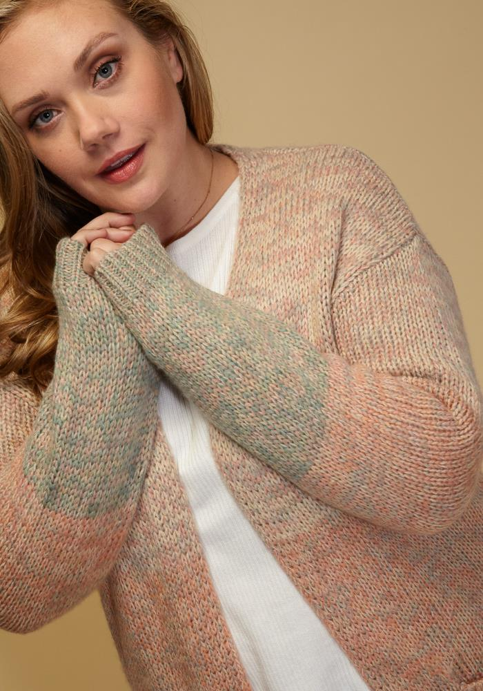 c93c31021ae09 Previous. Next. 1  2  3. STYLE    2002911. Asoph Plus Size Pastel Long  Sleeve Open Front Cozy Cardigan