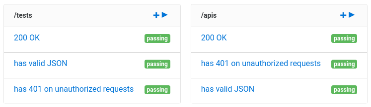 Automated API testing with Jenkins : Assertible