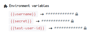 New feature: Encrypted variables