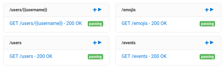 GitHub Web Service - Passing Assertible Tests