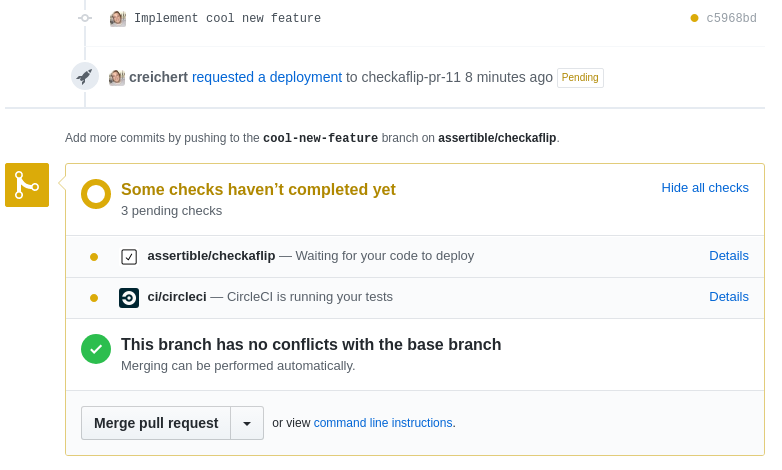Automating QA pipelines for Heroku Review Apps