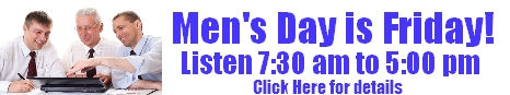 Men's Day is Friday!