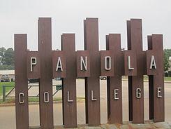 Panola College sign, Carthage, TX IMG 2933.JPG
