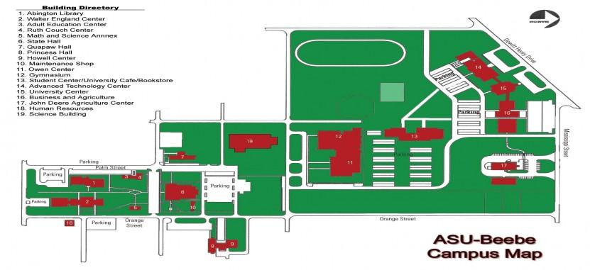 Asu Jonesboro Campus Map.Arkansas State University Beebe Overview Plexuss Com