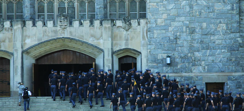 Checkout this video of United States Military Academy