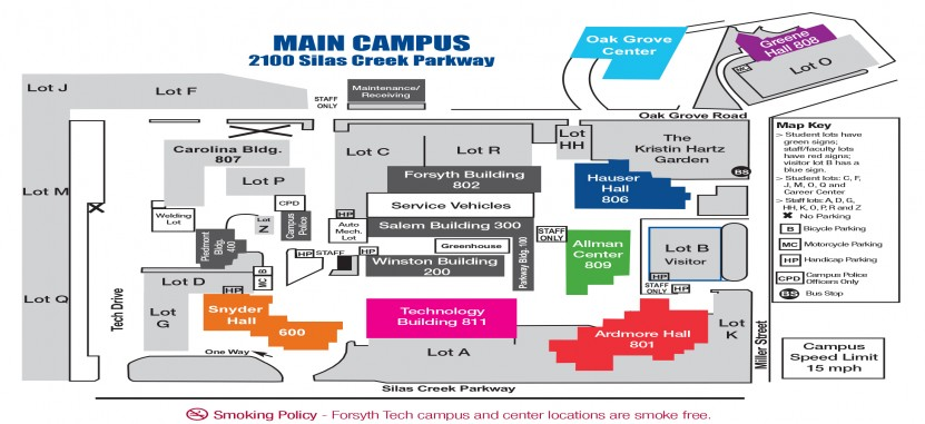 forsyth tech campus map Forsyth Technical Community College Overview Plexuss Com forsyth tech campus map