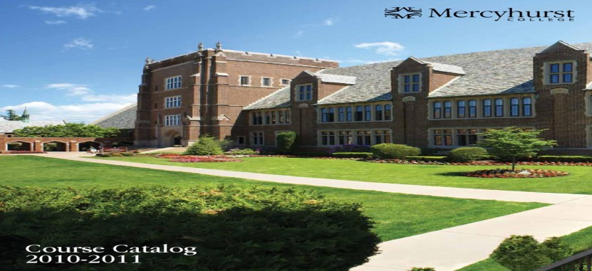 Mercyhurst University | Overview | Plexuss com