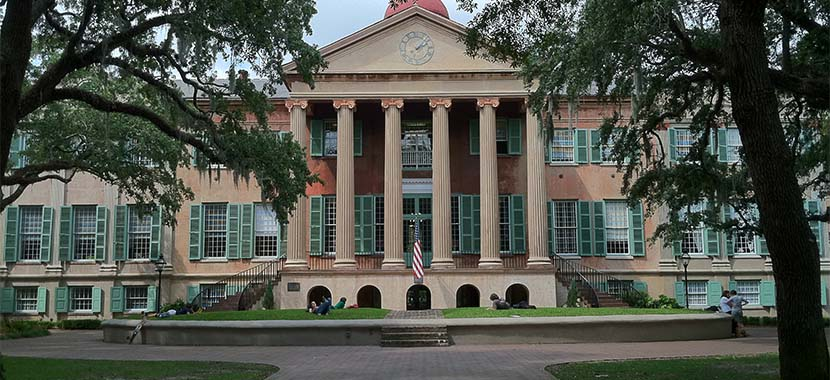 Watch a video of College of Charleston