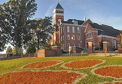 Watch a video of Clemson University
