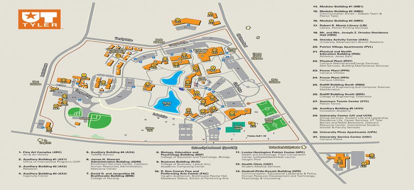 U T Tyler Campus Map The University of Texas at Tyler | Overview | Plexuss.com