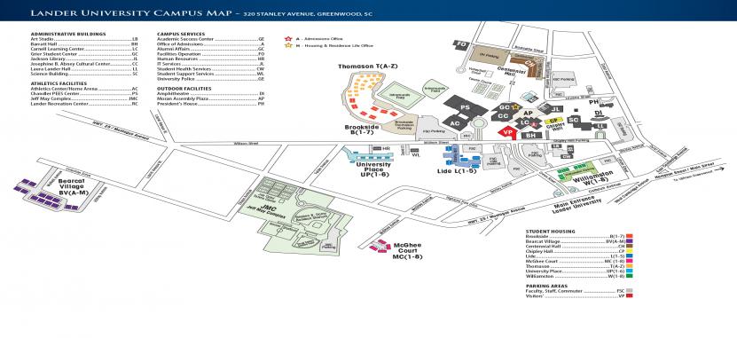 Lander University Campus Map.Linfield College Adult Degree Program Overview Plexuss Com