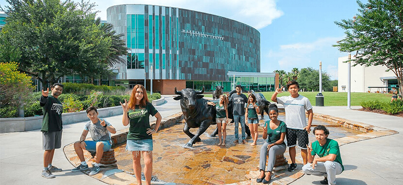 Watch a video of University of South Florida-Main Campus
