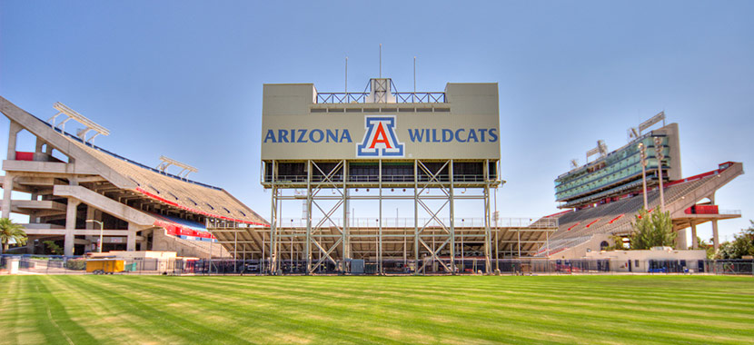 Checkout this video of University of Arizona
