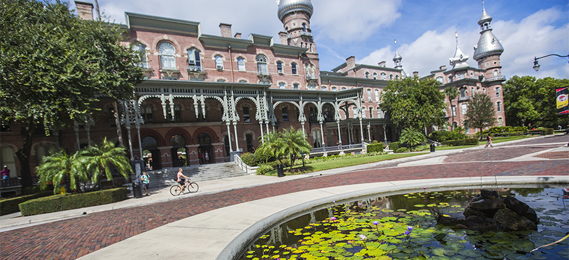 Watch a video of The University of Tampa