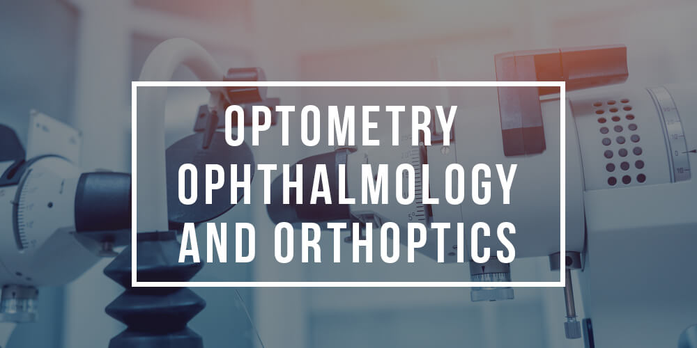 Major in Optometry Ophthalmology and Orthoptics| Optometry