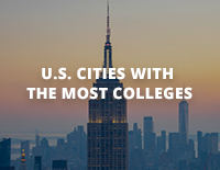 U.S. Cities with the Most Colleges