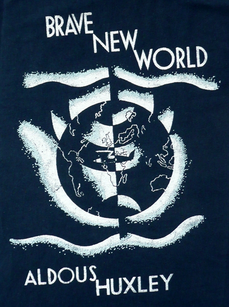 the warning in brave new world by aldous huxley Aldous huxley creates a dystopian, futuristic society, based on pleasure and peppered with a few oddball characters read more about brave new world.