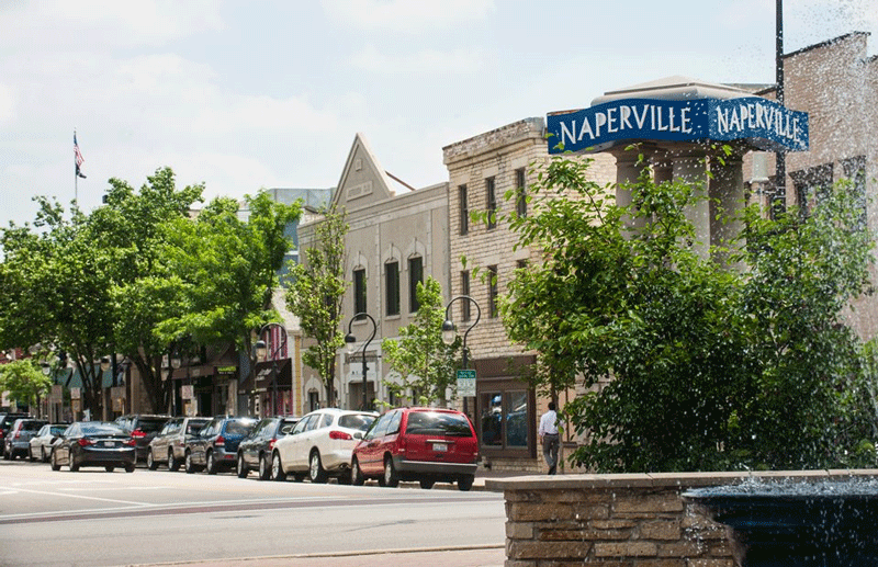Best Cities for College Graduates - Naperville, Illinois
