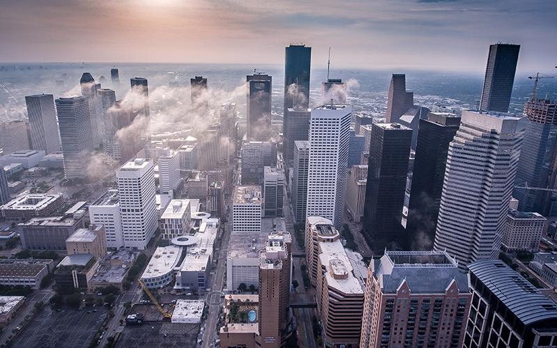Best college cities Houston