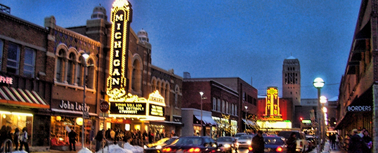 Best US Cities for Young Professionals - Ann Arbor, Michigan