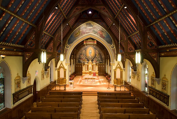 Chapel of the Immaculate Conception - Seton Hall University