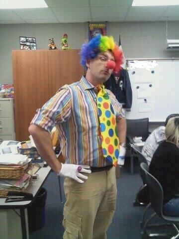 clown teacher