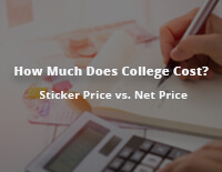 How Much Does College Cost? - Sticker Price vs. Net Price