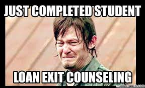 student loan exit counseling