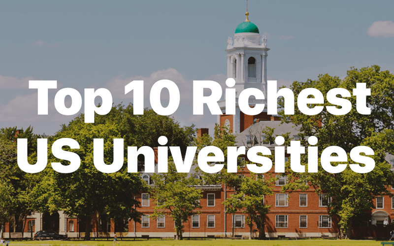 10 of the Richest Universities in the United States